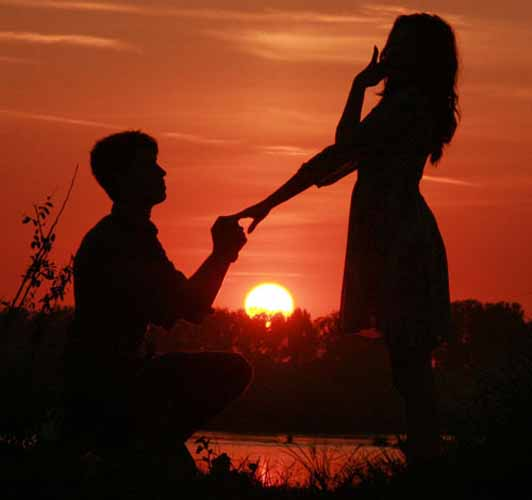 Proposal during Sunset Cruise aboard Valkyrie Sailing Charters Sag harbor NY