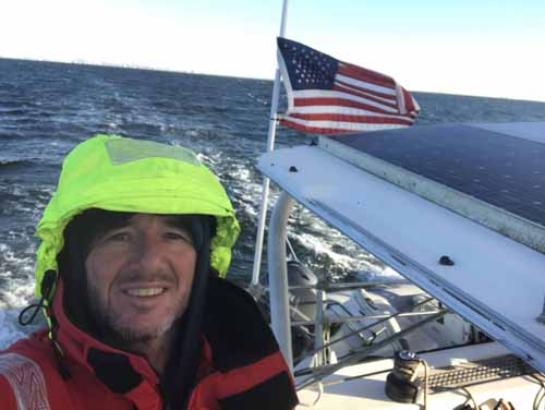 Captain Paul Sailing to Miami from NYC October 2020